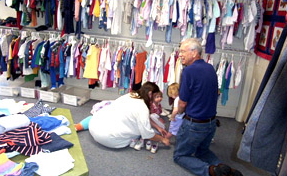 The First Presbyterian Church Clothes Closet Began In Mid 1950s When A Member Of Offering Clothing Her Children Had